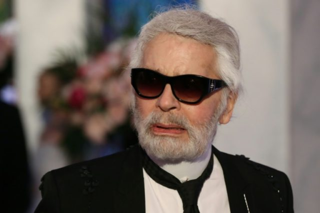 Karl Lagerfeld has lashed out against Chancellor Angela Merkel's decision to allow about one million migrants into Germany