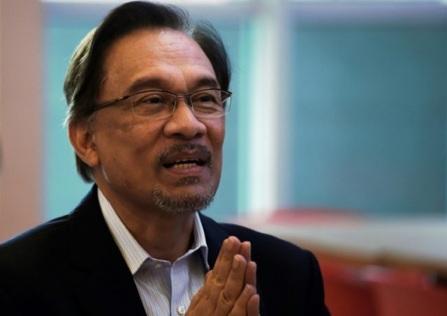 Anwar Ibrahim is newly installed Prime Minister Mahathir Mohamad's former nemesis turned ally