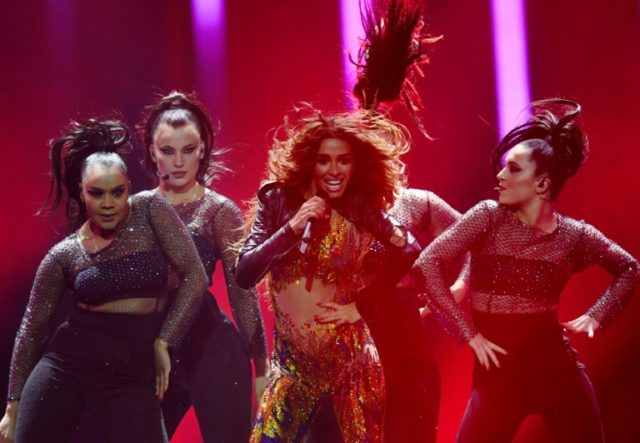 """Cyprus' fiery song """"Fuego"""", performed by Eleni Foureira, a Greek singer of Albanian origin, had the best odds of winning"""