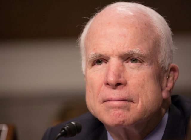 US Senator John McCain, 81 and battling brain cancer, reportedly was the target of dismissive remarks by a communications official of the Trump administration