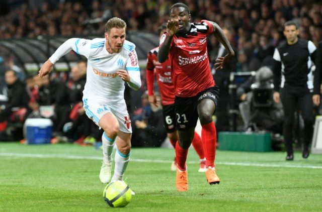 Marseille and Guingamp played out a dramatic draw on Friday