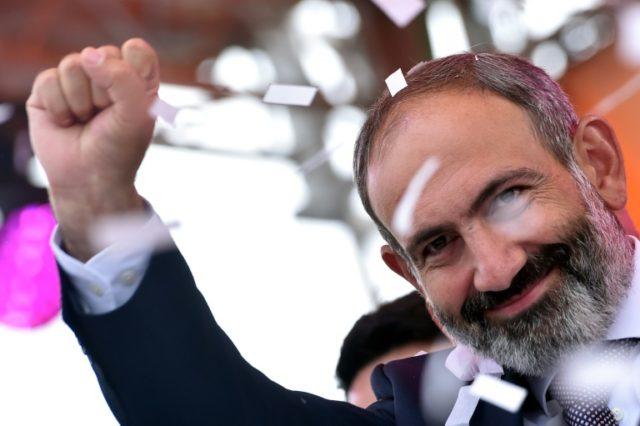New Armenian Prime Minister Nikol Pashinyan swept to power this week