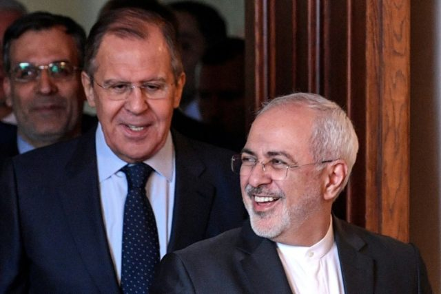 Russia and Iran -- whose foreign ministers Sergei Lavrov and Mohammad Javad Zarif met in Moscow in April -- had sought to strengthen business ties long before the 2015 nuclear agreement, despite international sanctions