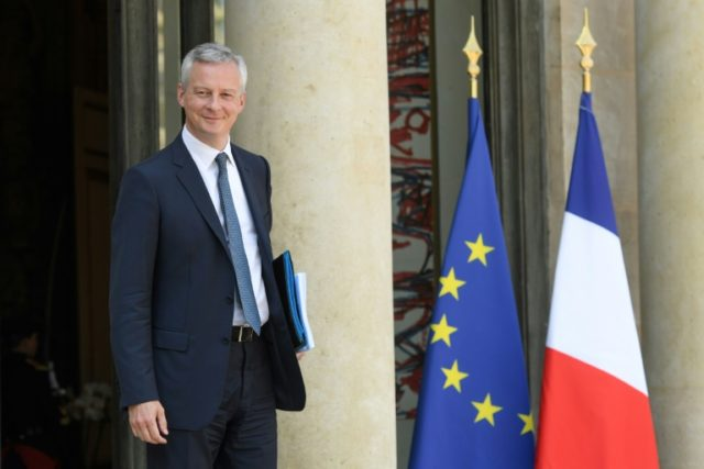 "French Economy Minister Bruno Le Maire has urged the EU to defend its ""economic sovereignty"" against US sanctions on companies trading with Iran"
