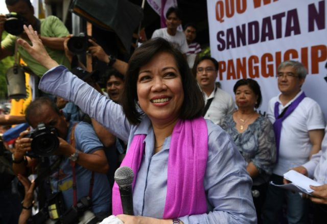 Duterte had openly called for Sereno's removal from the court, after they clashed over his bloody war on drugs