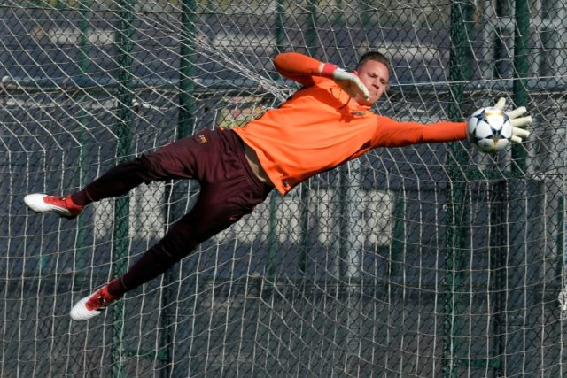 Barcelona goalkeeper Marc-Andre ter Stegen could hold Germany's World Cup hopes in his hands