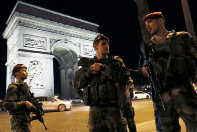 Jihadist attacks on France have killed more than 245 people since 2015