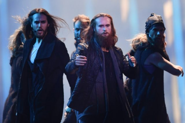 Denmark singer Rasmussen's song is about a peaceful Viking