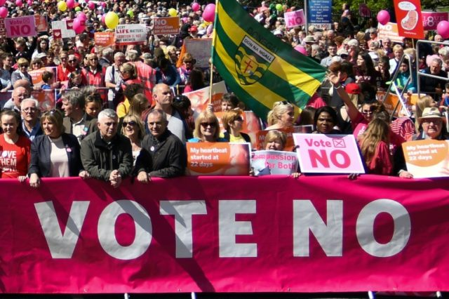 Ireland's abortion referendum campaigns ramp up