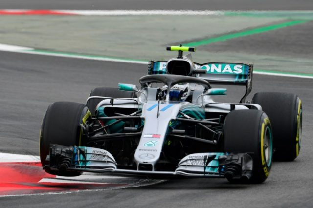 Valtteri Bottas was hot on Mercedes' teammate Lewis Hamilton's heels in practice for the Spanish Grand Prix