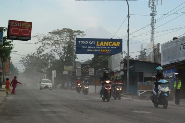More than 12,000 people live in the immediate vicinity of Mount Merapi, one of the world's most active volcanoes