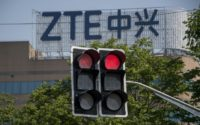 Chinese telecom group ZTE faces a crisis following a US ban on sales of American components, amid broader trade tensions between Washington and Beijing