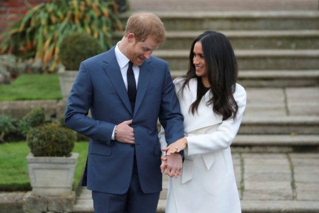 Britain's Prince Harry and Meghan Markle will be married at St. George's Chapel in Windsor Castle on May 19
