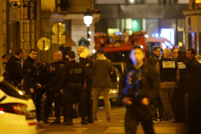 Police rushed to the scene of the attack, shooting the assailant dead