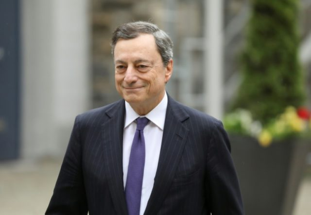 ECB chief Mario Draghi urged eurozone leaders to move forward on reforms to single-currency bloc