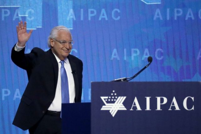 US Ambassador to Israel David Friedman, shown in March, sees progress in Middle East peace despite the controversial move of Washington's embassy to Jerusalem