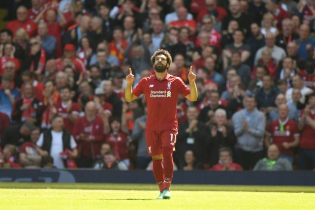 Mohamed Salah set a new record for Premier League goals in one season with 32 strikes