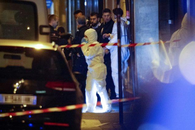 Witnesses described scenes of panic in the Rue Monsigny