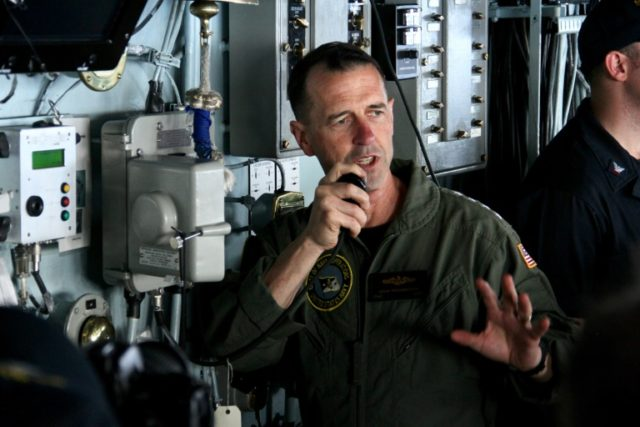 Navy: Top U S  Admiral Travels to China for 'Risk Reduction