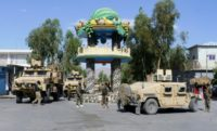 Taliban attacks have continued unabated and last week they tried to seize the western city of Farah