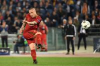 Radja Nainggolan, pictured in action on May 2, 2018, has played 30 times for Belgium and is popular with supporters, but his relationship with coach Roberto Martinez has often been strained
