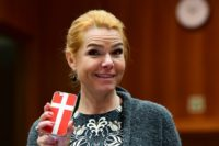Denmark's immigration and integration minister Inger Stojberg has previously sparked controversy with her strong anti-immigration views