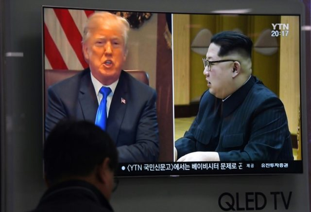 US President Donald Trump and North Korea's Kim Jong Un went from rhetorical warfare to the verge of the unprecedented summit -- only for the hopes to be dashed in the final stretch