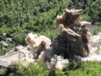 Video: North Korea Blows Up Front of Nuclear Test Site