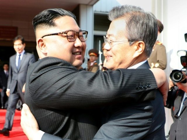 North Korean leader Kim Jong Un and President Moon Jae-in met in the border truce village where they held their first summit last month