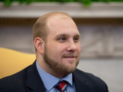 "Joshua Holt, who had been detained in Venezuela for almost two years, said at the White House after his release that he is ""overwhelmed with gratitude"""