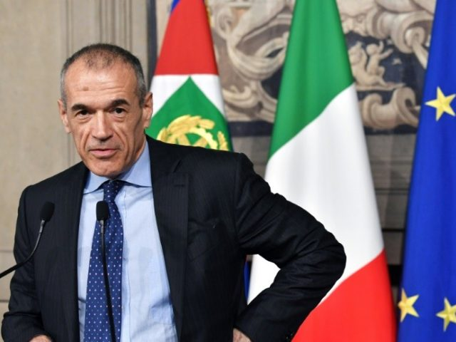 """Carlo Cottarelli, an economist known as """"Mr Scissors"""", has been given a mandate to form Italy's next government"""