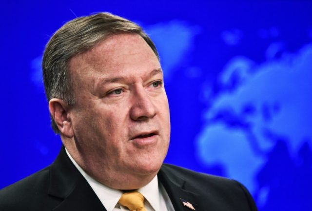 US Secretary of State Mike Pompeo warned his Russian counterpart Sergei Lavrov that Moscow must stop interfering in US domestic politics