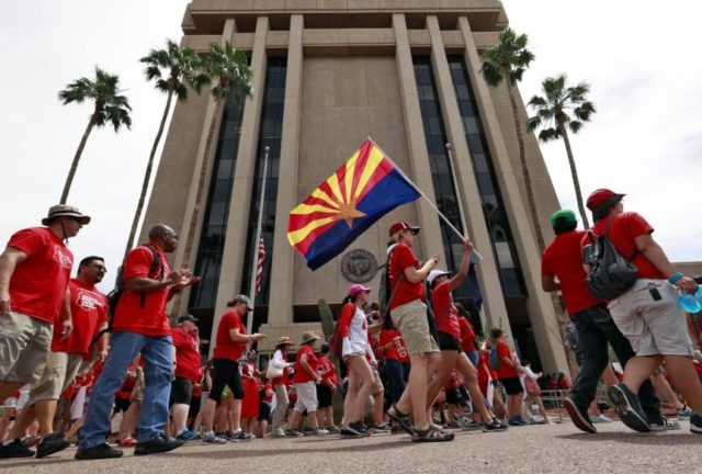 Arizona lawmakers move to pass raises for striking teachers