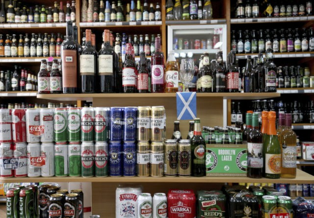 Scotland bans bargain-basement booze in public health move