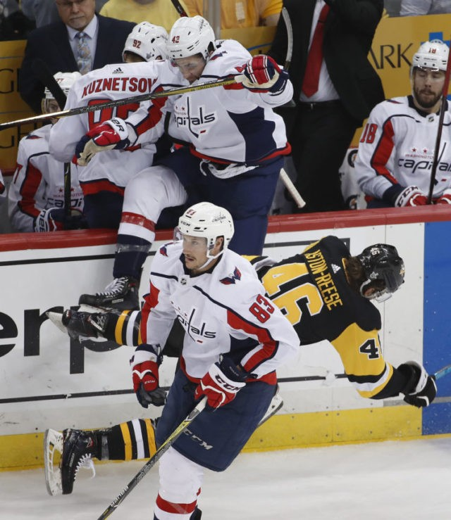 Tom Wilson, Zach Aston-Reese
