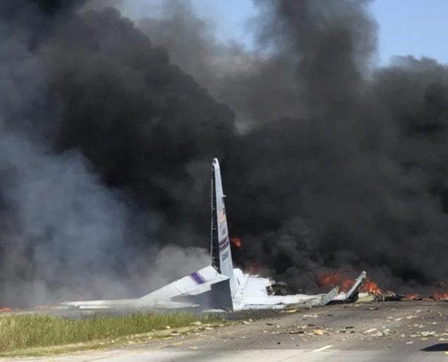 Military cargo plane crashes in Georgia, killing 5