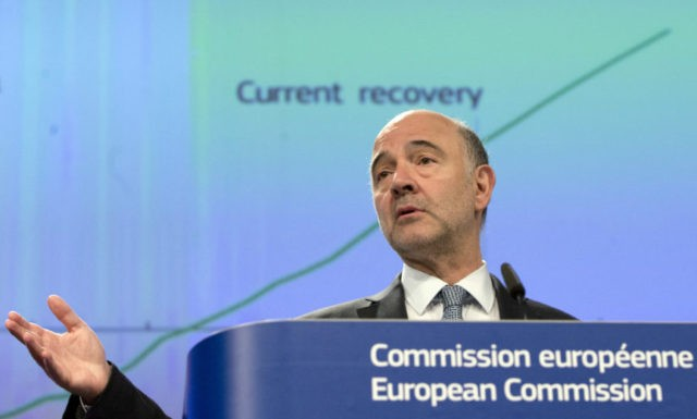EU predicts bright outlook for economy, tougher times for UK
