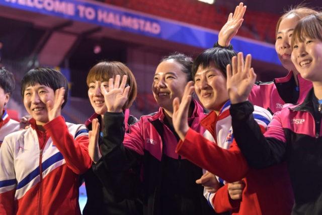 Pingpong diplomacy: Koreas join teams at table tennis worlds