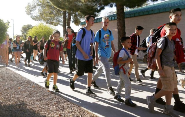 Arizona students back in class after 6-day teacher walkout