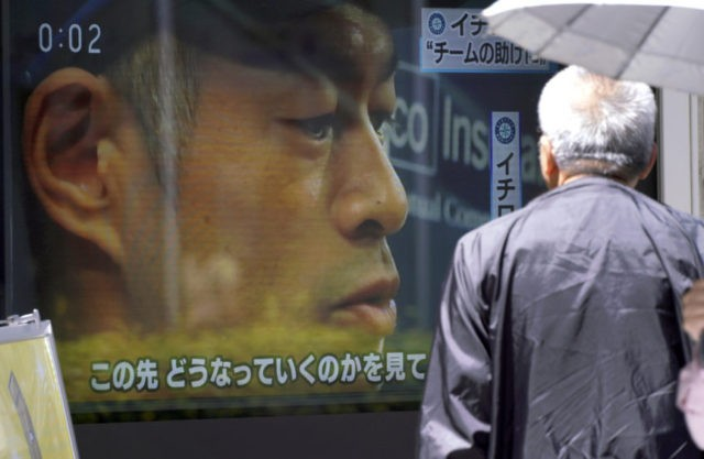 In Japan, Ichiro's move starts long 'Sayonara' for a legend