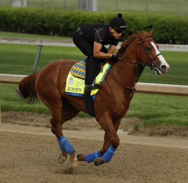 Justify tops list of leading contenders in Kentucky Derby