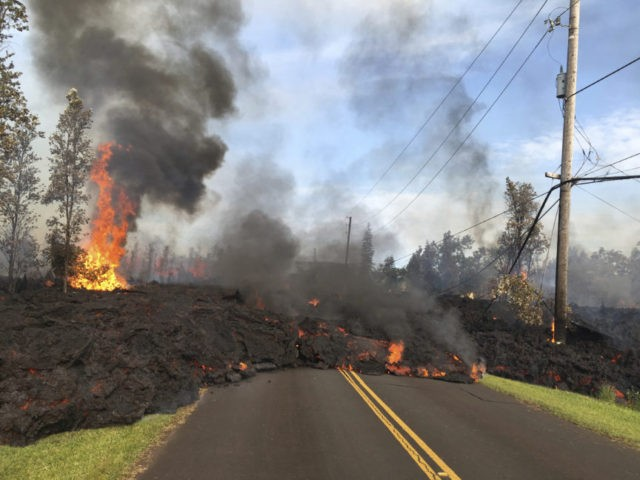 The Latest: 8 vents quiet after sputtering lava in Hawaii