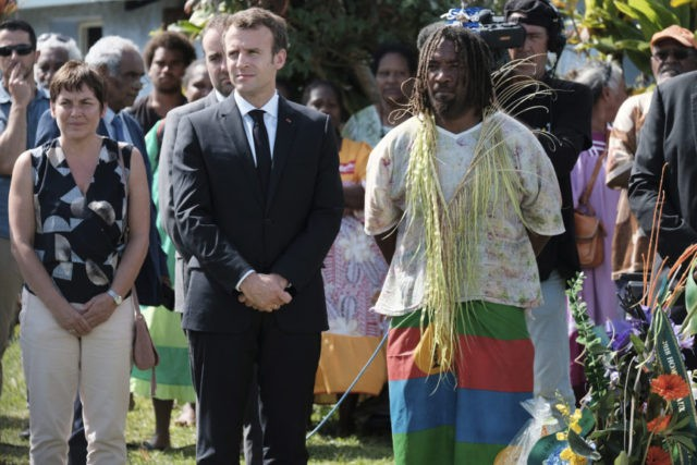 Macron honors New Caledonians before independence vote