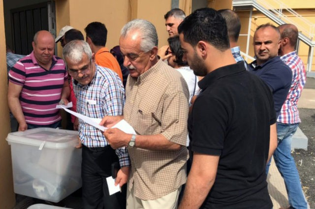 Lebanon holds 1st parliamentary elections in 9 years