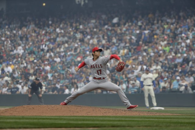 Ohtani strong in return to mound as Angels beat Mariners 8-2