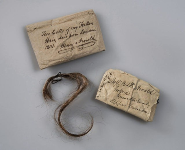 Benedict Arnold's hair to be displayed at fort he captured