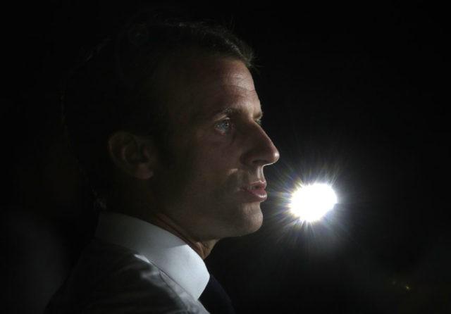 Macron's 1st year: World fame, Trump hugs, French anger