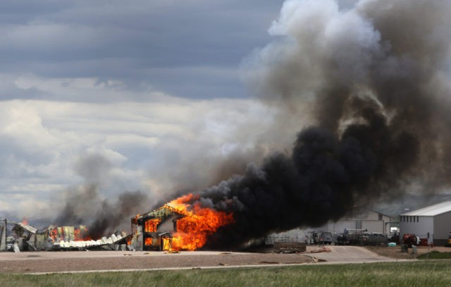Fire destroys South Dakota ammo plant; no injuries reported
