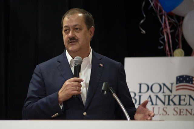 The Latest: Blankenship concedes West Virginia Senate race