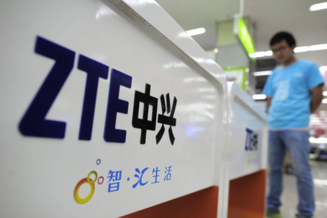 China's ZTE stops major operations following US export ban